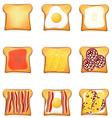 toast 10 vector image