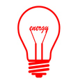 bubl energy red vector image
