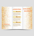 gold sparkles on white background banners golden vector image