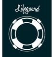 lifeguard icon vector image