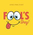 fools day vector image