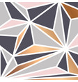 geometric background with colorful triangles vector image
