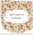 Sketchnote Banner vector image