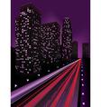 Night city3 vector image