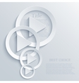 modern play light background vector image