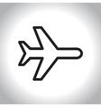 icon tourism vector image
