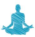 Meditation and hypnosis vector image