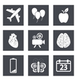 Icons for Web Design and Mobile Applications set 2 vector image vector image