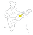 jharkhand vector image