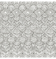 seamless tribal pattern Hand-drawn vector image