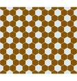 Hexagon pattern seamless vector image vector image