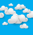 Abstract cloudscape vector image vector image