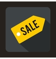Sale icon in flat style vector image