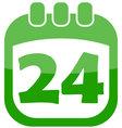 icon easter calendar vector image