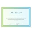 Certificate pattern vector image vector image