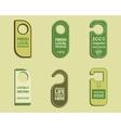 Stylish Farm Fresh Organic brand door badge vector image