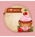 Sweet time vector image