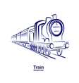 Train 3 vector image