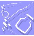 syringe vector image vector image