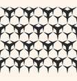 seamless pattern triangular lattice with hexagons vector image