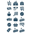Business and sales Icons vector image