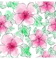 Seamless Floral Pattern Flower pattern vector image