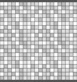 square tile with grey colors seamless pattern vector image
