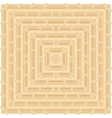 Geometric pattern color of maple wood vector image