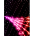 Neon Technology Background vector image