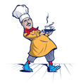 Cook Chef smile vector image