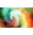 Color Swirl Art vector image