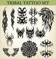 tribal tattoo design vector image