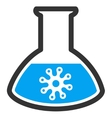 Infection Container Icon vector image