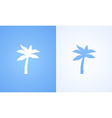Coconut Palm vector image