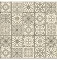 Seamless Moroccan Portuguese Azulejo ornaments vector image