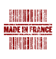 Made in france icon vector image