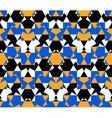 Seamless pattern abstract honeycomb mosaic vector image