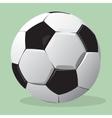Football ball realistic vector image