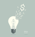 Light of business concept vector image