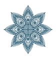 Mandala Decorative ethnic floral ornament vector image