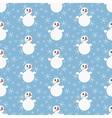 Funny Christmas snowmen vector image