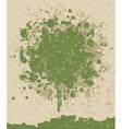music note splatter vector image