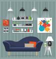 interior room design vector image