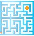 small maze vector image