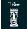 hawaii totem vector image