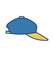 sport hat cap vector image