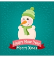 stock christmas background and greeting card with vector image