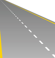 road for background vector image