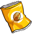 A pouch of chips vector image