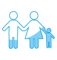Pictogram family icon vector image